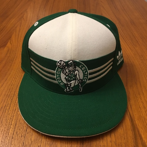 37a65c69d8b adidas Other - Adidas Boston Celtics Banners Fitted Hat